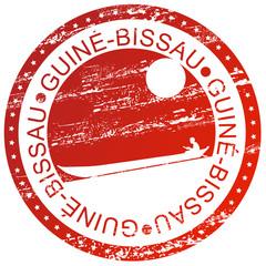 Carimbo - Guiné-Bissau, piroga