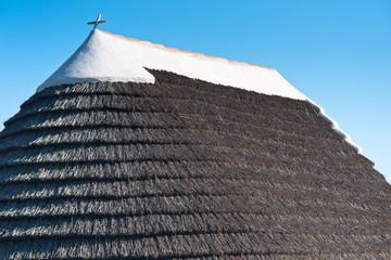 toiture typique de maison camarguaise