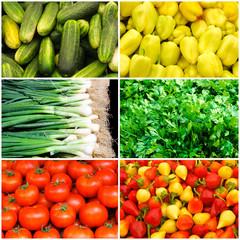 Plenty of vegetables