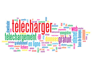 Nuage de Tags TELECHARGER (internet web téléchargement download)