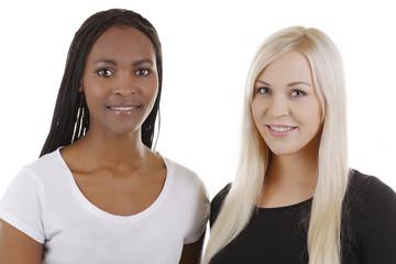 Afrikanerin und Europäerin