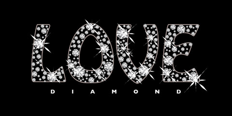 Love diamond icon