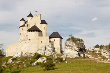 Castle in Bobolice - Polnad