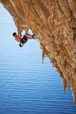 Fototapety Rock climber