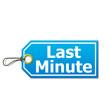 Etiqueta 3d texto Last Minute