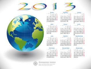 2013 Calendar Mundo Spanish version