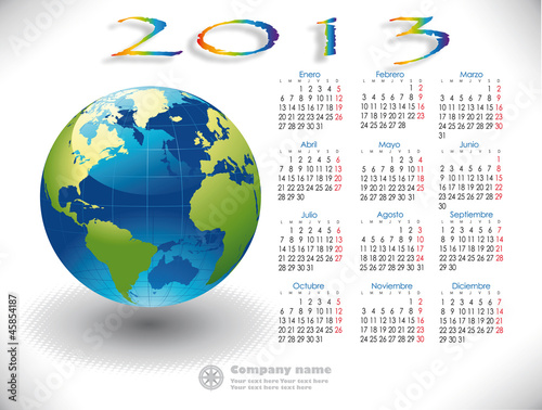 2013 Calendar Mundo Spanish version