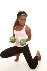 serious green balls weights