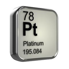 3d Periodic Table - 78 Platinum
