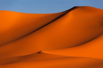 Sand art, desert