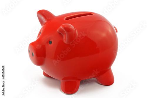 Leinwandbild Motiv sparschwein