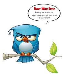 Tweeter Blue Bird Strict