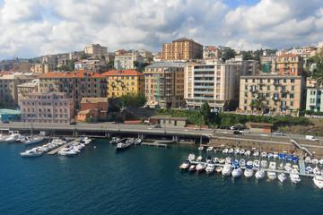 Veduta del porto di Savona