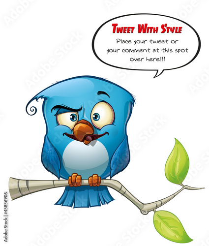 Tweeter Blue Bird Smarty