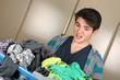 Zu viel Wäsche