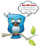 Tweeter Blue Bird Vicious poster