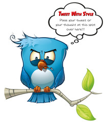 Tweeter Blue Bird Vicious