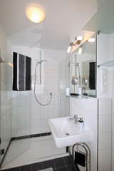 Badezimmer nach Renovierung