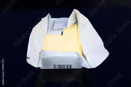 Eine Packung Butter