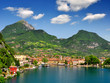 the city of Riva del Garda, Lago di Garda,Italy