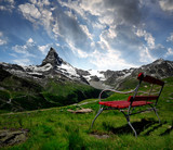 Matterhorn in the sunset - Swiss Alps
