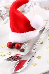 Weihnachtliches Gedeck ©yvonneweis