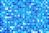 Abstrakter blauer Hintergrund - 45858772