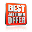 best autumn offer banner