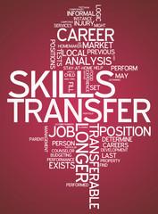 "Word Cloud ""Skills Transfer"""