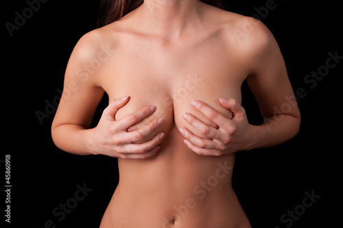 Close-Up of Woman's Torso