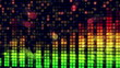 sound level meter equalizer loopable background