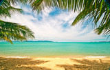 Fototapety Tropical beach: Chaweng Beach on Koh Samui