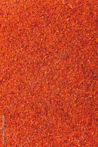 red powder background
