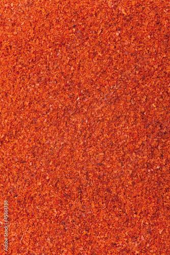 red powder background
