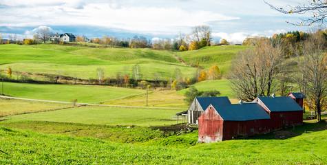 Vermont Scenic Farm Land