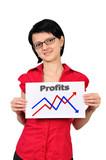 placard graph profits