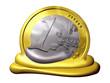 melting Euro, Symbol of Inflation