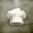 Chef hat, old-style