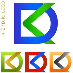 K. D. / D. K. Company Logo