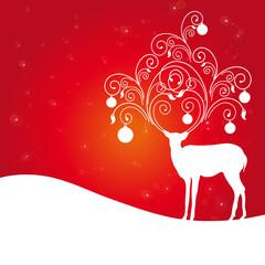 deer,red