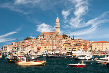 the old town Rovinj