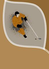 Hockey background