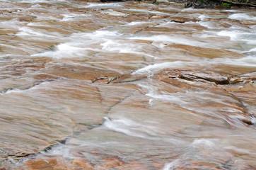 霧島川の千畳敷の川面