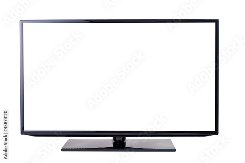 TV set, isolated on white background