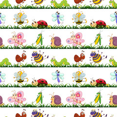 various insects