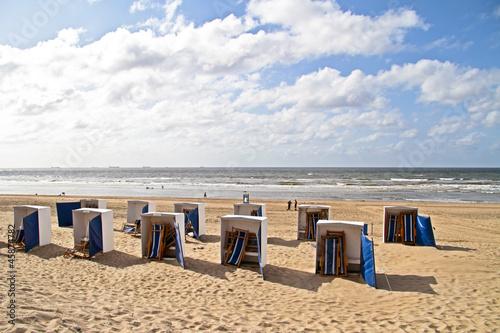 Scheveningen beach in the Netherlands