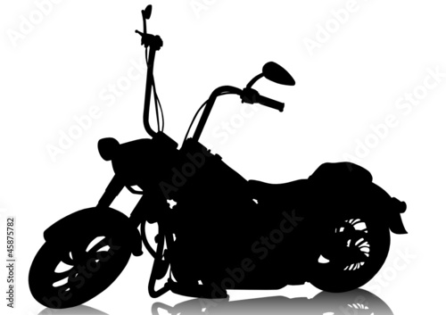 Foto op Canvas Motorfiets Chopper motorcycle