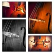 Musica collage - Doublebass - double bass - kontrabass