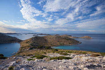 Kornati islands in Croatia, Adriatic sea