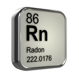 3d Periodic Table - 86 Radon